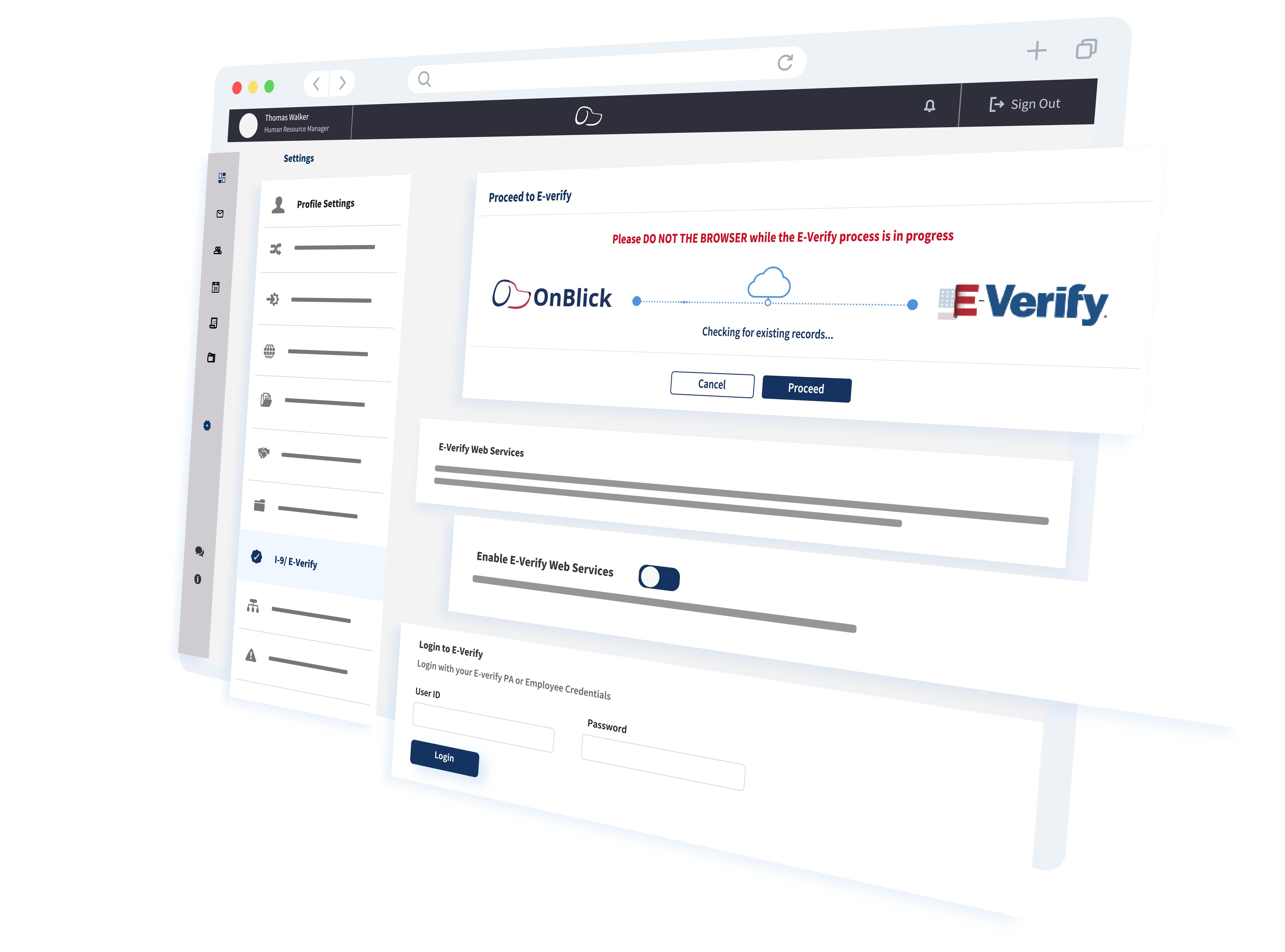 Electronic I-9 & E-Verify