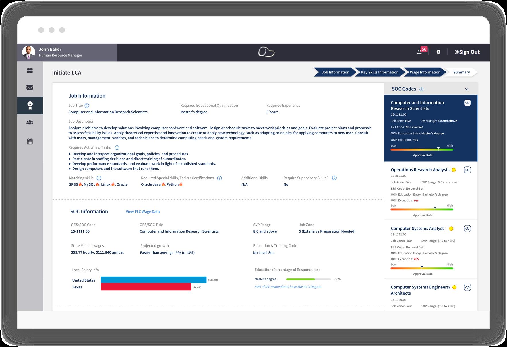 I9 Form|Immigration Software|LCA|SOC Codes|H1B|I983 Form